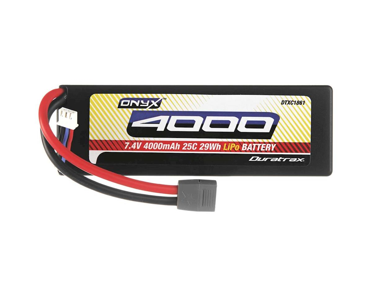 LiPo Onyx 2S 7.4V 4000mAh 25C Hard Case Star by DuraTrax