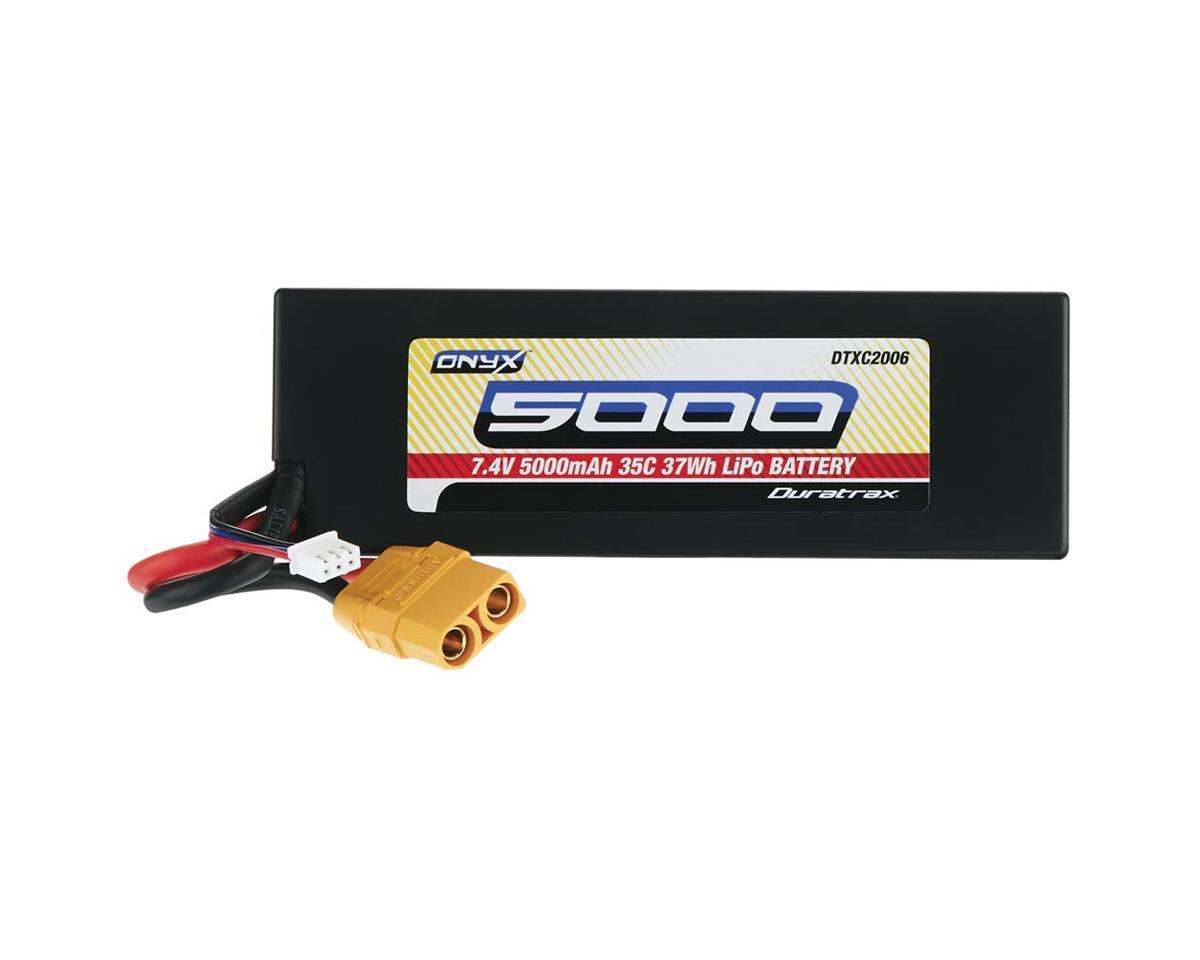 DuraTrax LiPo Onyx 2S 7.4V 5000mAh 35C Hard Case XT90