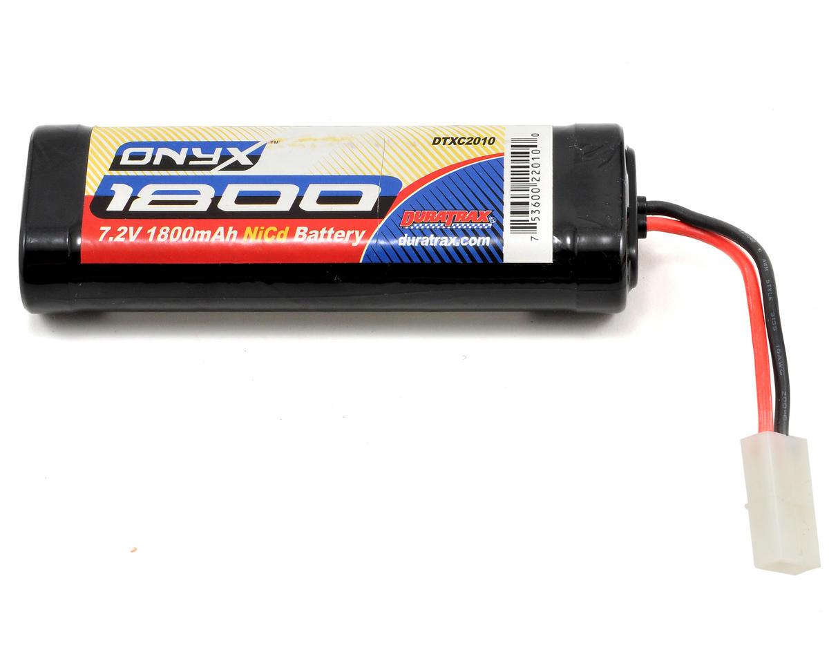 """DuraTrax 6 Cell 7.2V """"Onyx"""" NiCd Stick Pack (1800mAh)"""