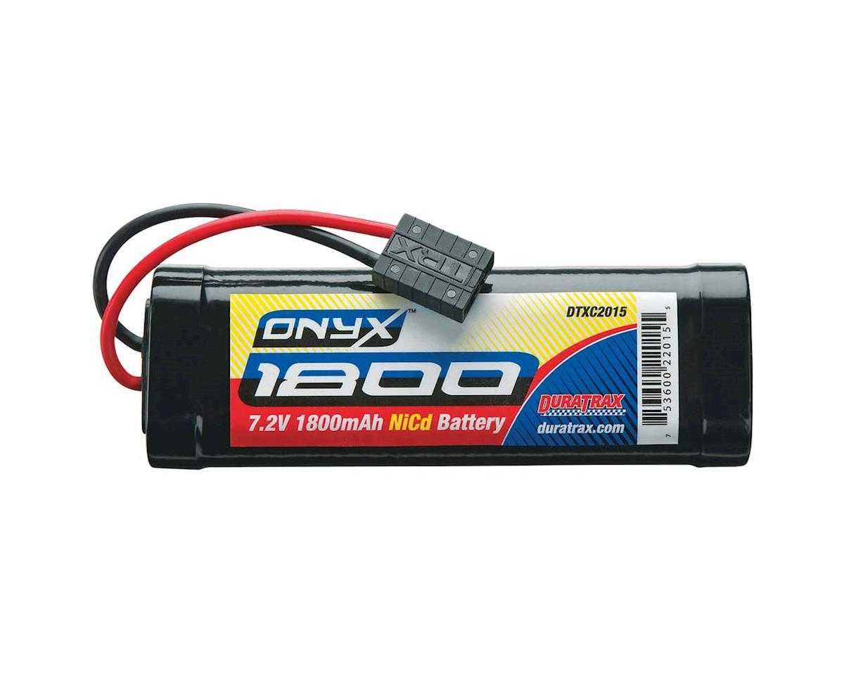 DuraTrax NiCd Onyx 7.2V 1800mAh Stick TRA Plug