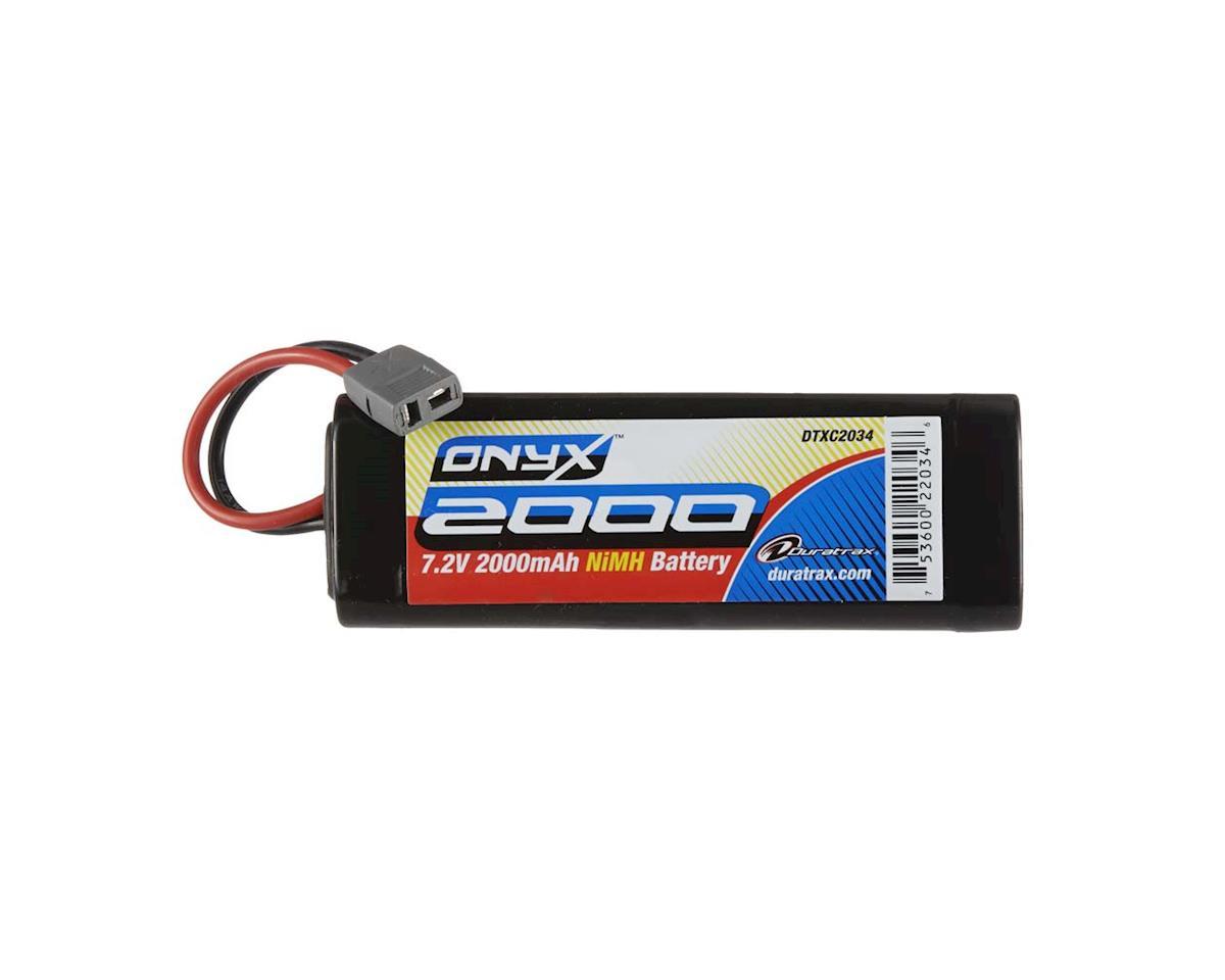 DuraTrax NiMH Onyx 7.2V 2000mAh Stick Star Plug