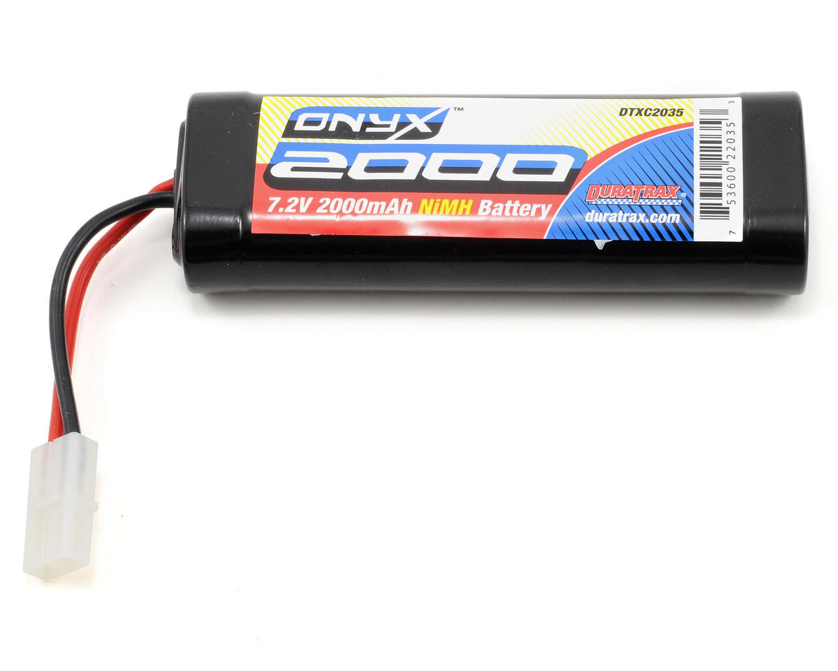 "DuraTrax 6-Cell 7.2V NiMH ""Onyx"" Stick Battery Pack (2000mAh)"