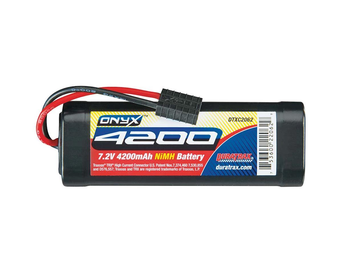 DuraTrax NiMH Onyx 7.2V 4200mAh Stick TRA Plug
