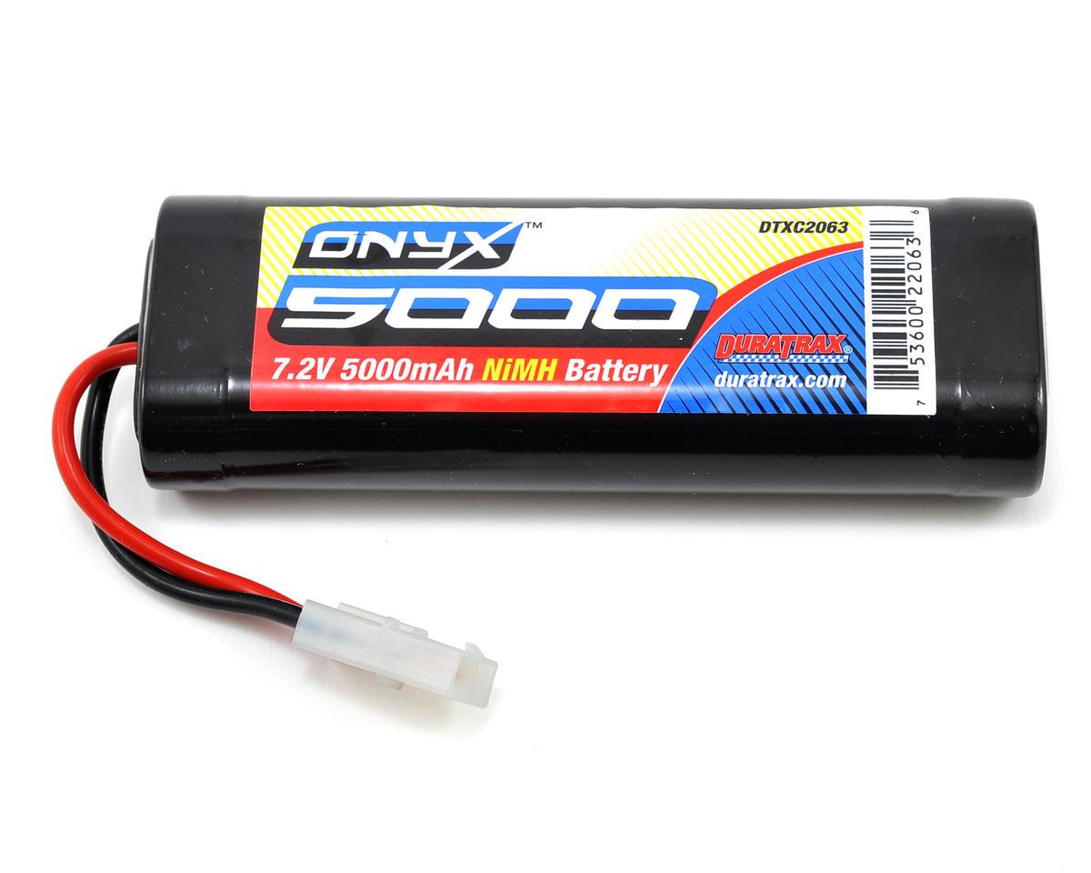 DuraTrax Onyx 6-Cell NiMH Stick Pack w/Tamiya Connector (7.2V/5000mAh)
