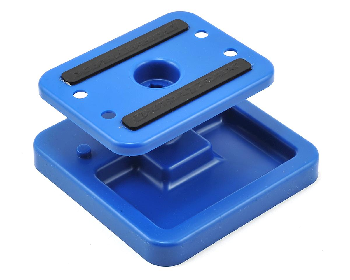 DuraTrax Pit Tech Mini Car Stand (Blue)