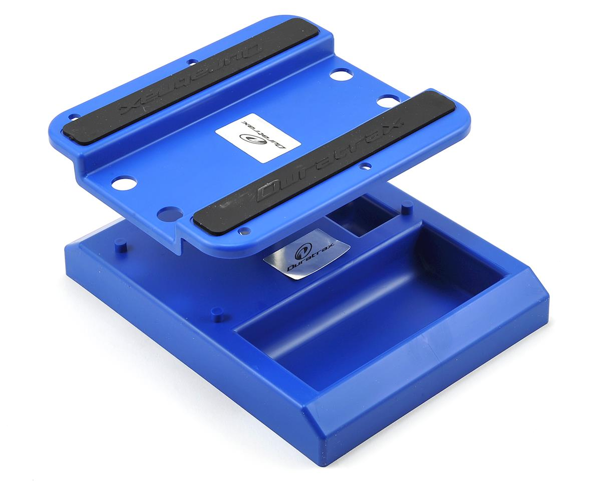 DuraTrax Pit Tech Deluxe Car Stand (Blue)