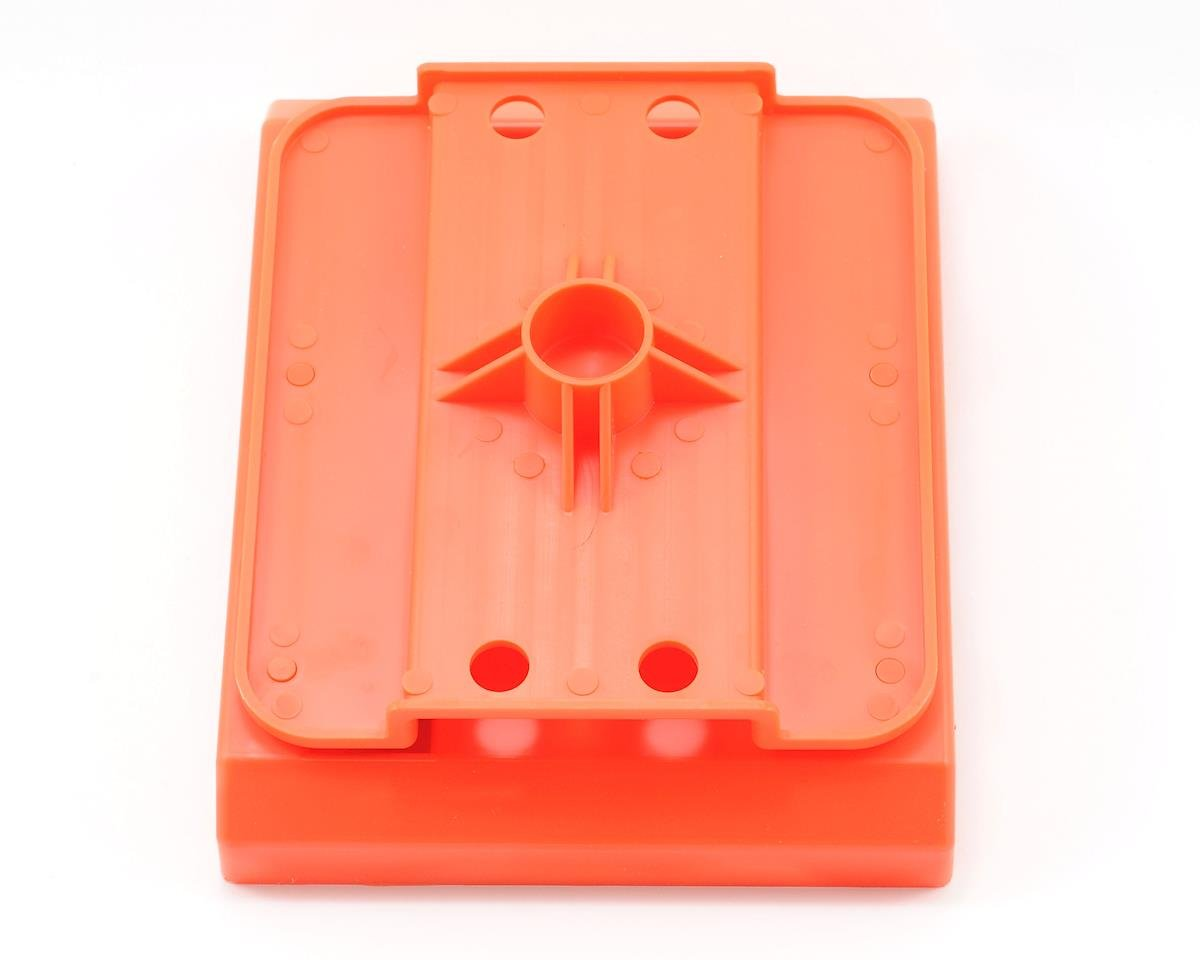 Pit Tech Deluxe Car Stand (Orange) by DuraTrax