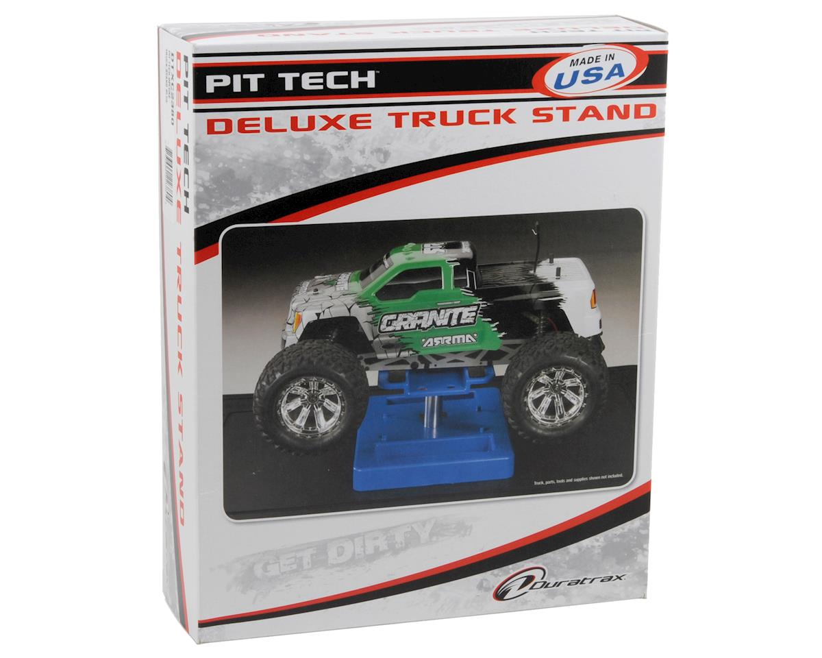 DuraTrax Pit Tech Deluxe Truck Stand (Black)