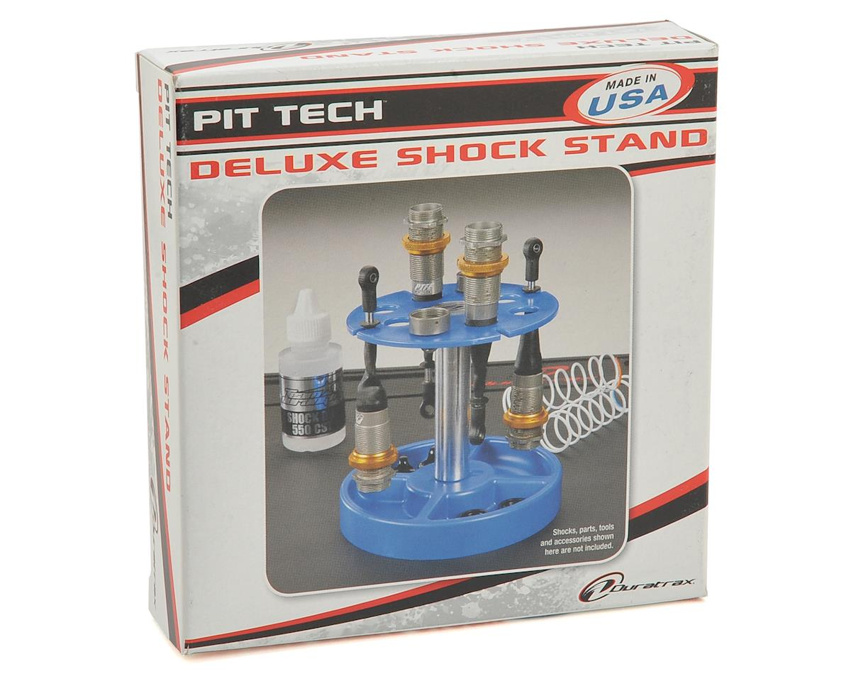 DuraTrax Pit Tech Deluxe Shock Stand (Black)