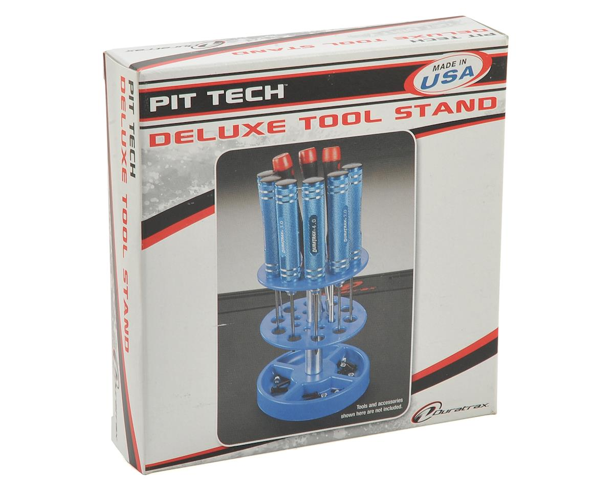 DuraTrax Pit Tech Deluxe Tool Stand (Blue)