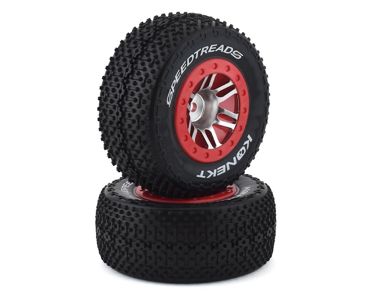 DuraTrax Speed Treads Konekt Pre-Mounted Rear Short Course Tire Set (2)