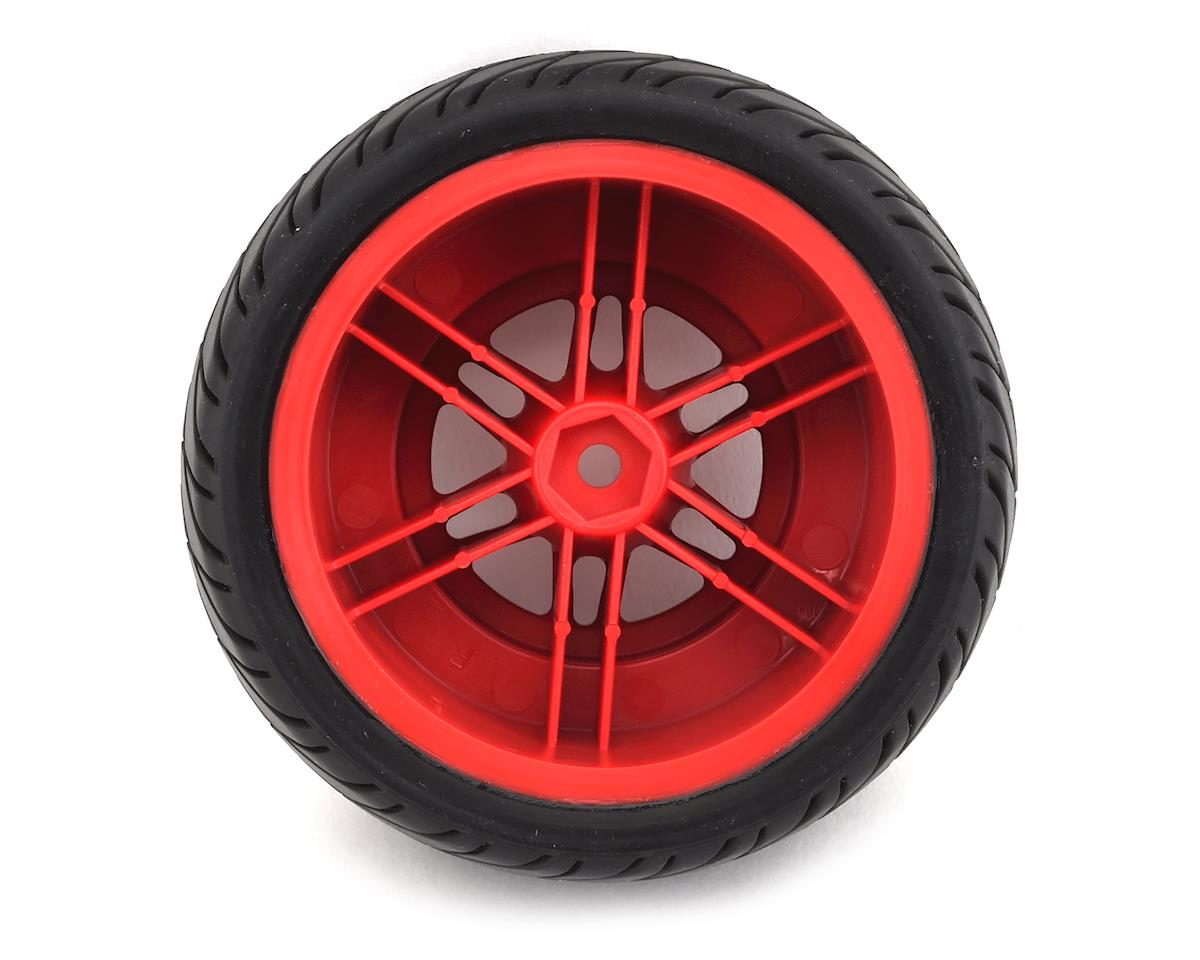 Image 2 for DuraTrax MTD SpeedTreads Robber SC Pre-Mounted 1/10 Short Course Truck Tires (2)