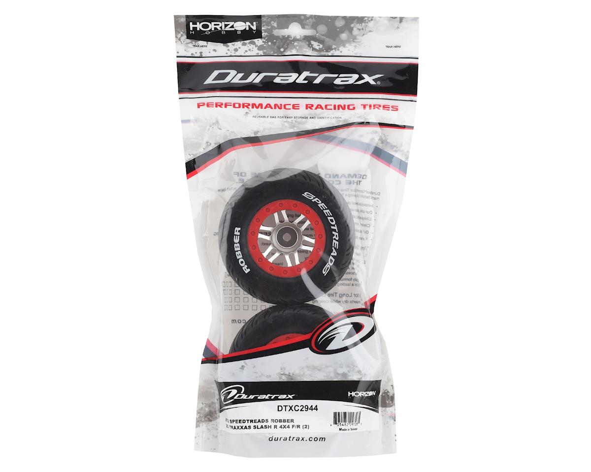 Image 3 for DuraTrax MTD SpeedTreads Robber SC Pre-Mounted 1/10 Short Course Truck Tires (2)