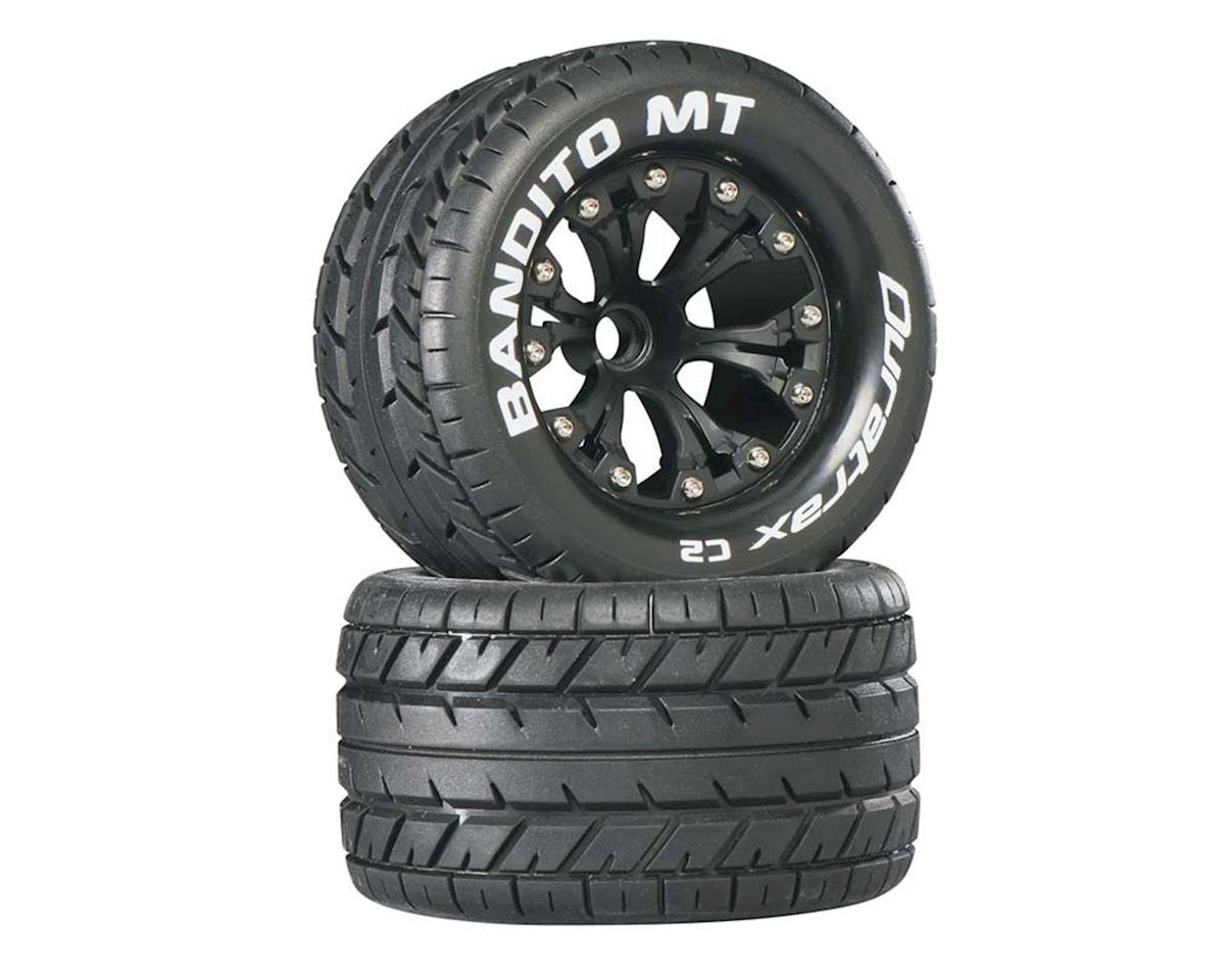 "DuraTrax Bandito Monster Truck 2.8"" Mounted Offset Tires (Black)(2)"