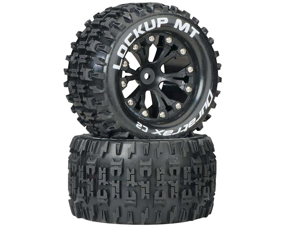 "Lockup MT 2.8"" 2WD Rear Mounted Truck Tires (Black) (2) by DuraTrax"
