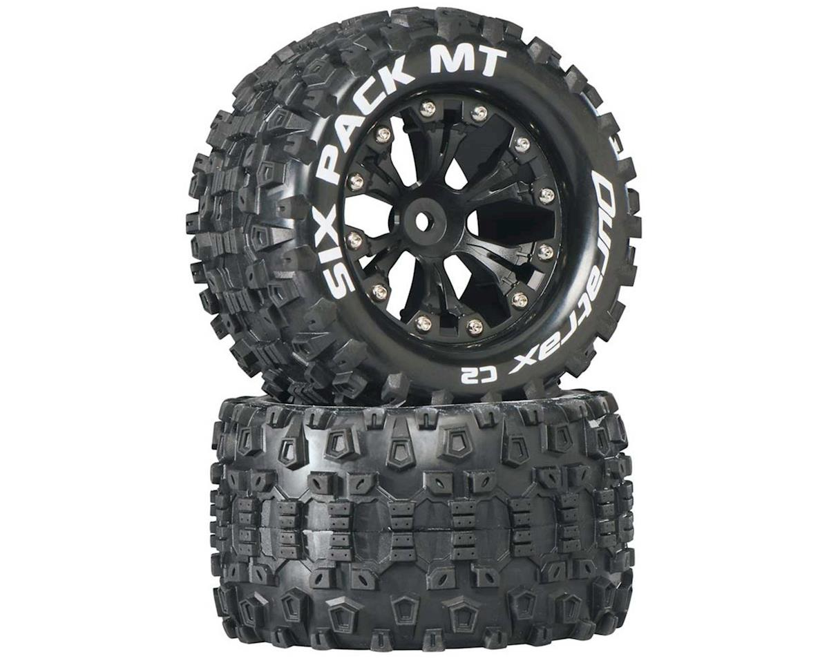 "DuraTrax Sixpack MT 2.8"" 2WD Rear Mounted Truck Tires (Black) (2)"