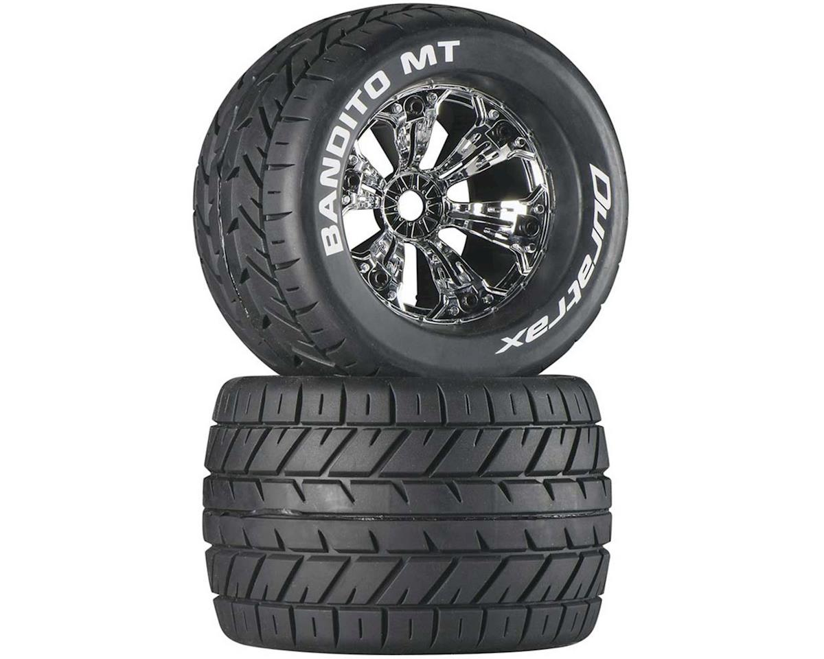 "Bandito MT 3.8"" Mounted 1/2"" Offset  Tires, Chrome (2)"