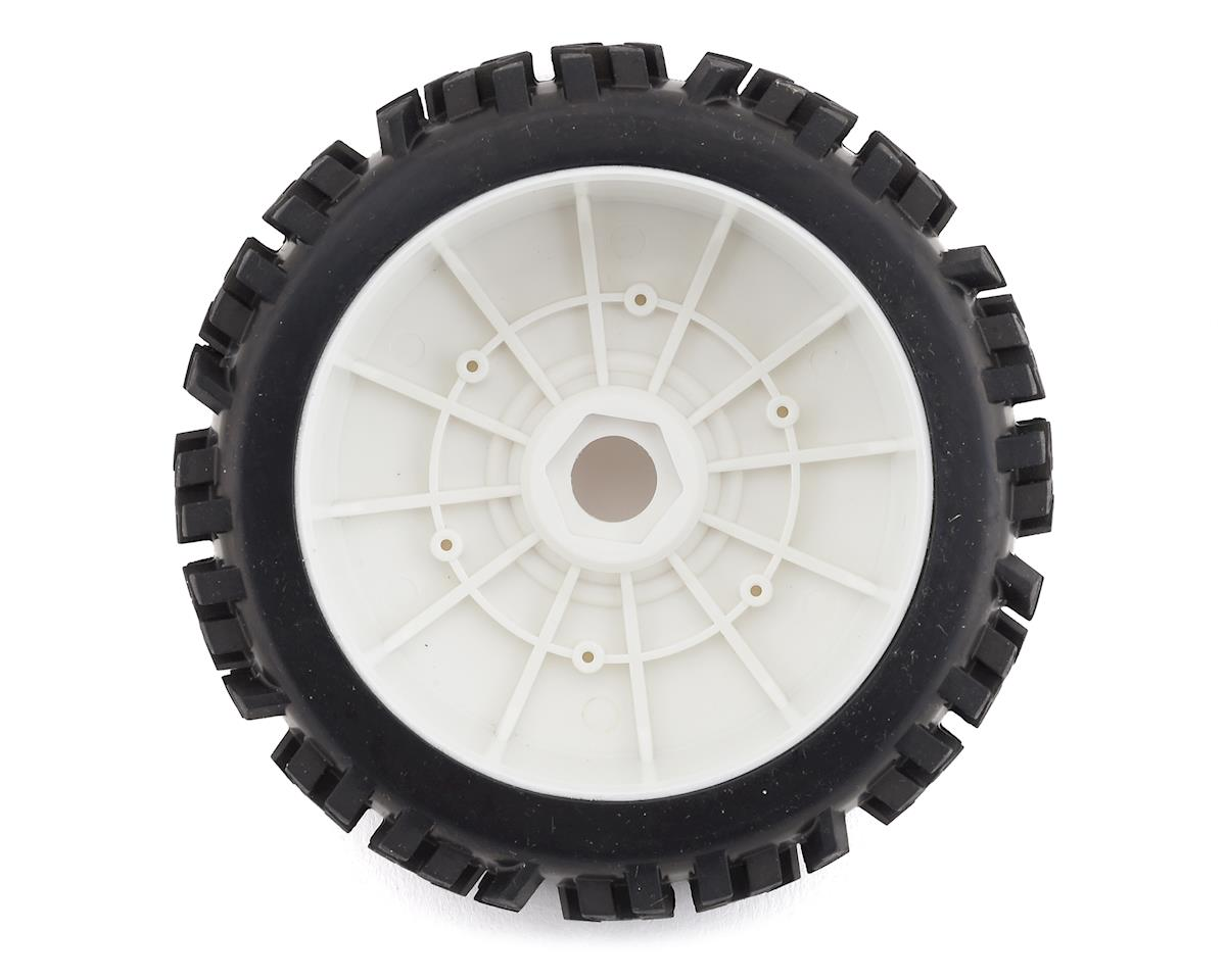 DuraTrax Pre-Mounted Lockup 1/8 Buggy Tires (White) (2)