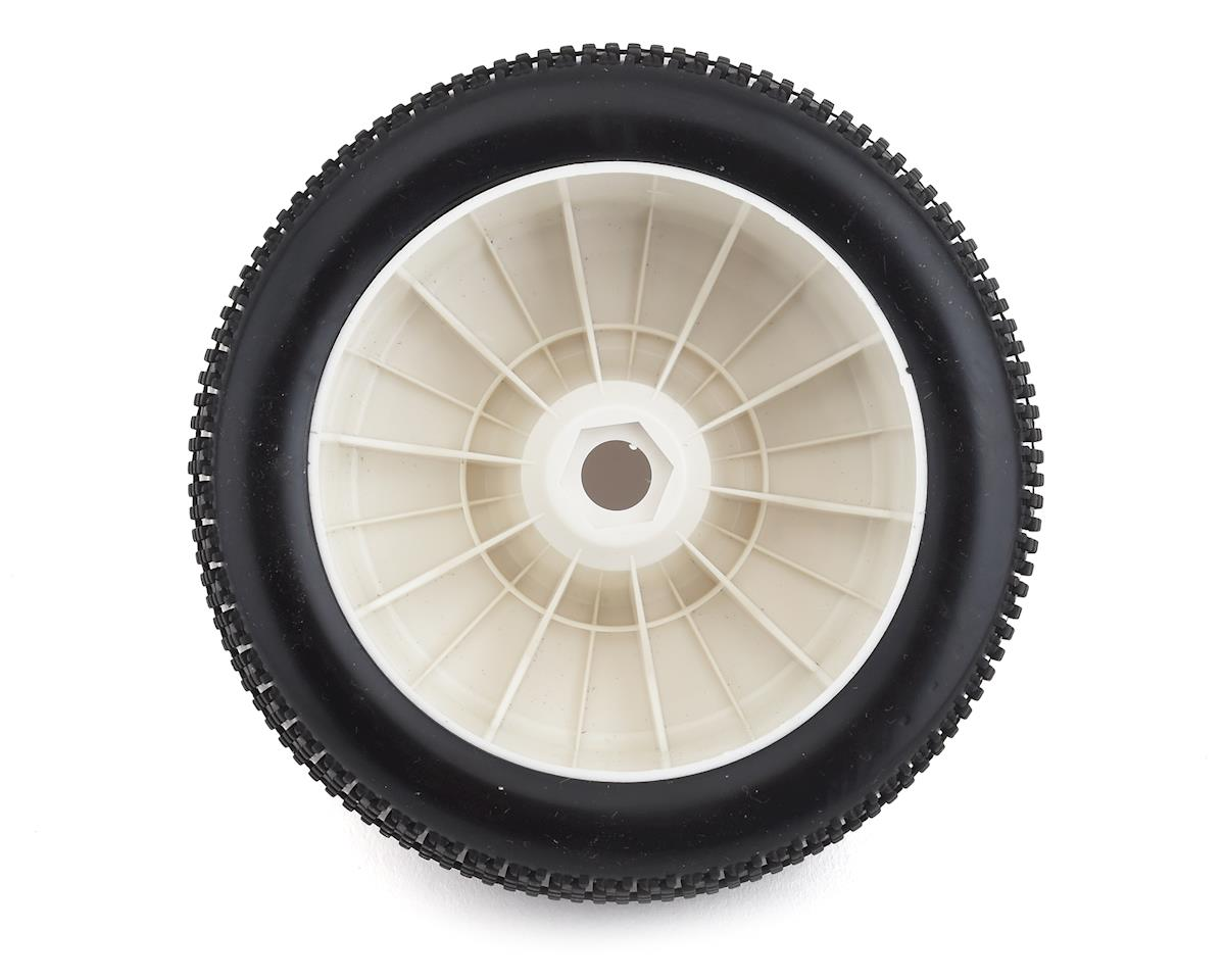DuraTrax Posse 1/8 Pre-Mounted Truggy Tire (White) (2) (C2 - Soft)
