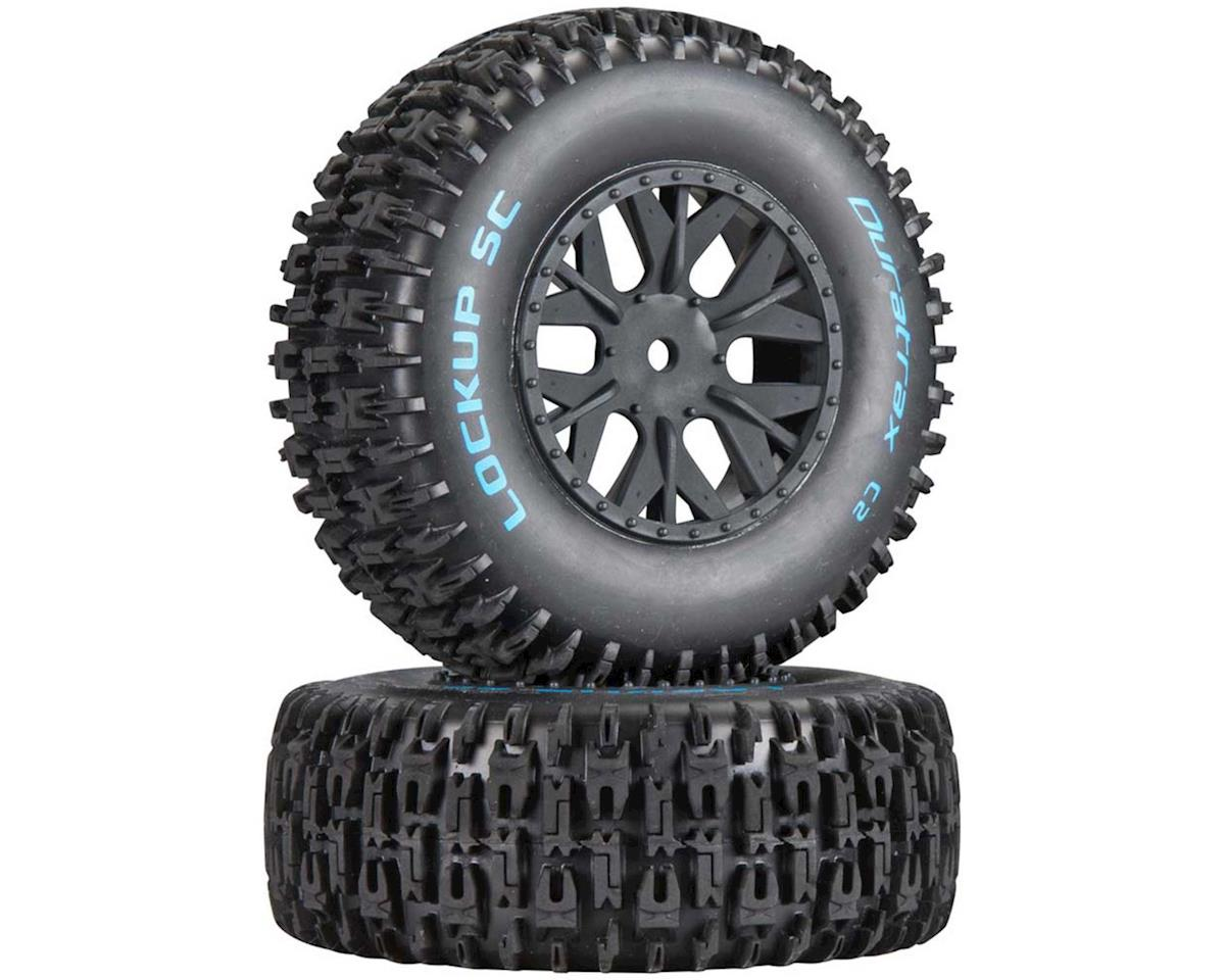 Lockup SC Tire C2 Mounted ASC SC10 4x4 (2) by DuraTrax
