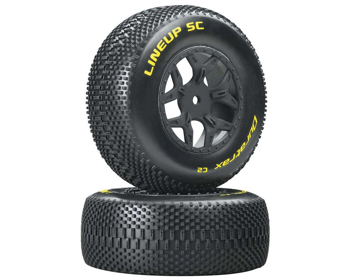 DuraTrax Lineup SC Tire C2 Mounted Losi Ten SCTE 4x4 (2)
