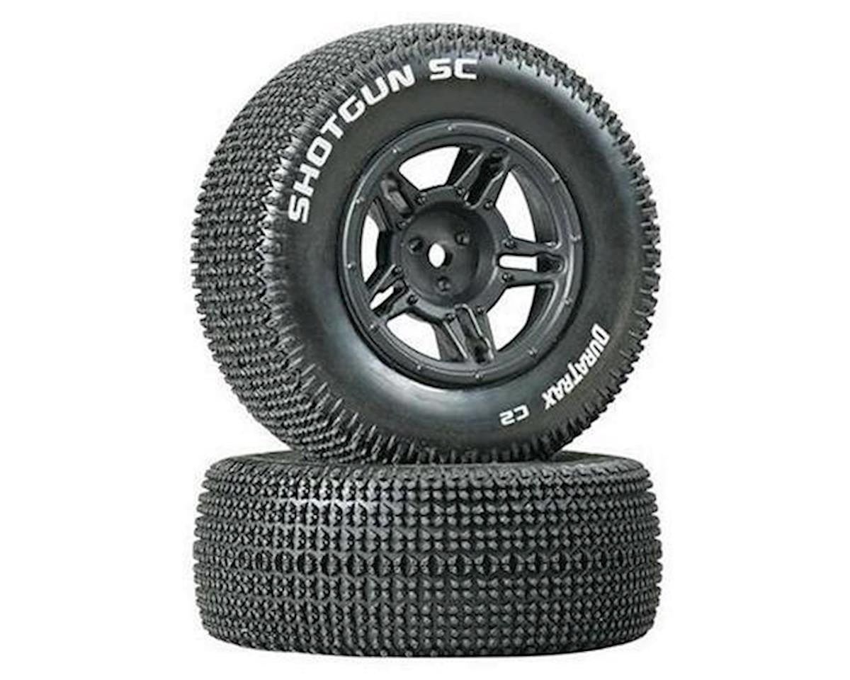 Shotgun SC Tire C2 Mntd Blk Slash Blitz SCRT10 (2) by DuraTrax