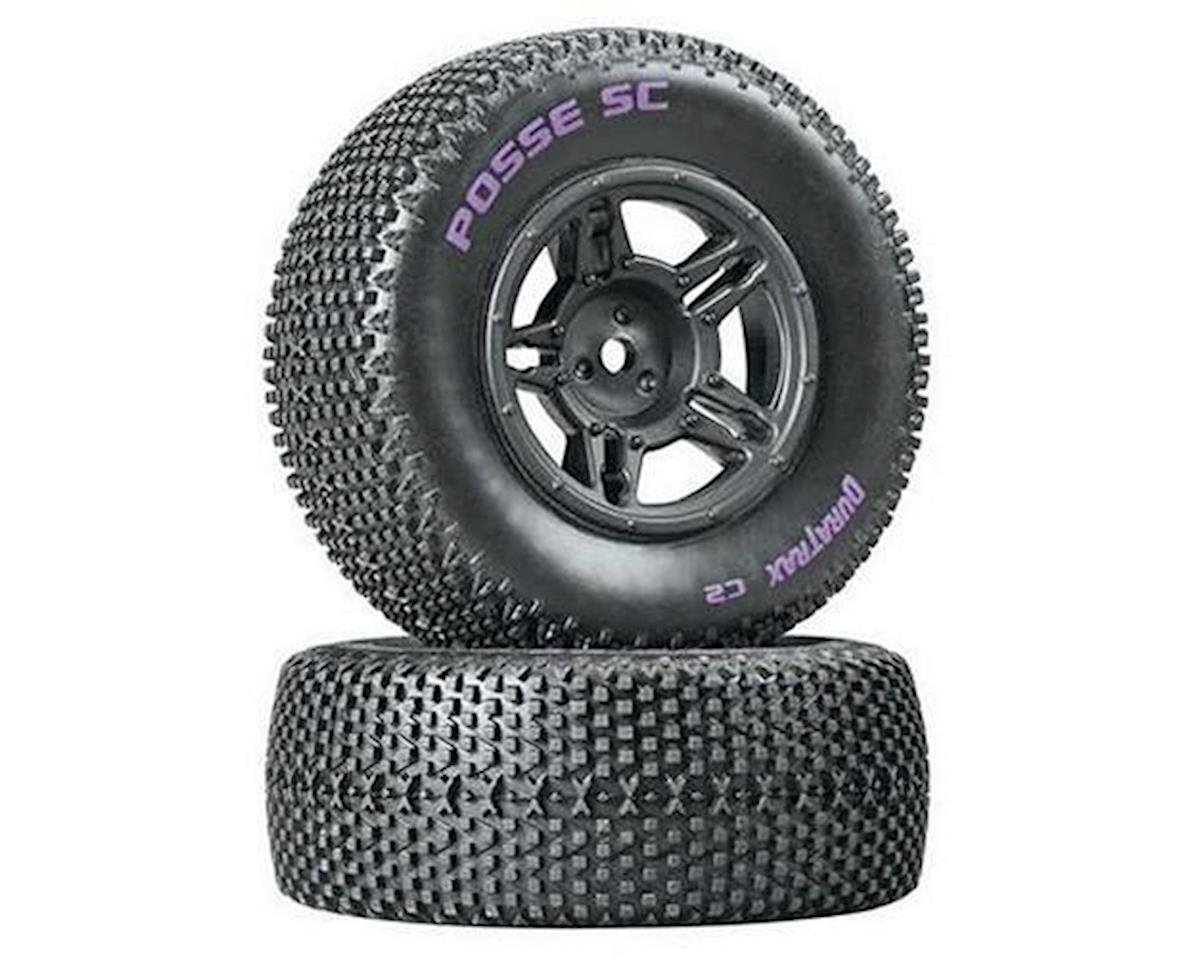 DuraTrax Posse Pre-Mounted Short Course Tire (Black) (2) (Soft - C2)