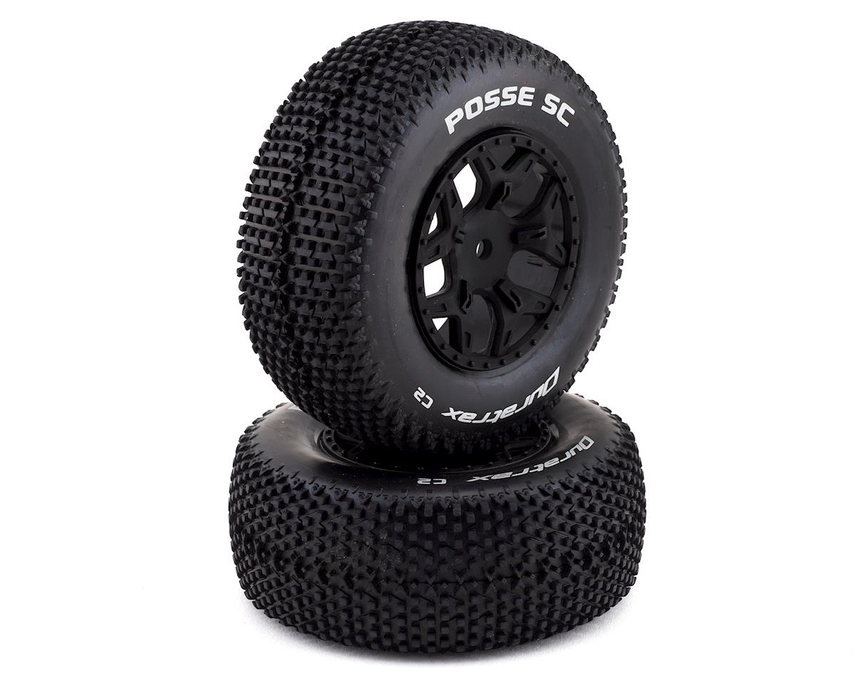 DuraTrax Posse 1/10 Pre-Mounted SC Truck Tire (2) (C2) (Losi Ten SCTE 4x4)