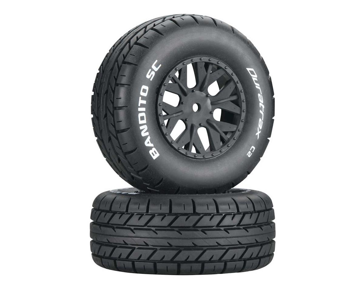 DuraTrax Bandito 1/10 Pre-Mounted SC Tires (2) (C2) (SC10 4x4)