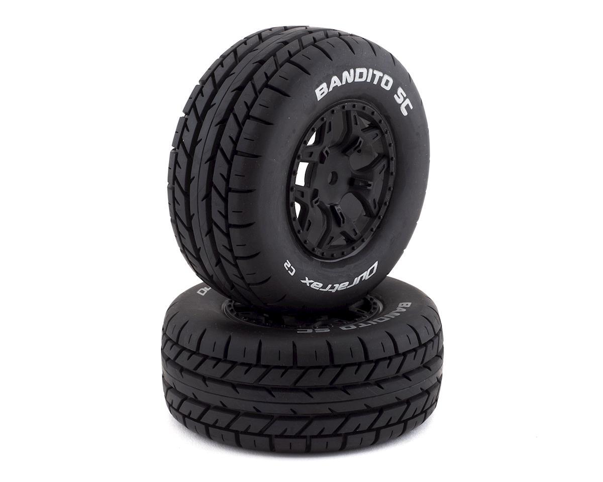DuraTrax Bandito 1/10 Pre-Mounted SC Tires (2) (C2) (Losi Ten SCTE 4x4)