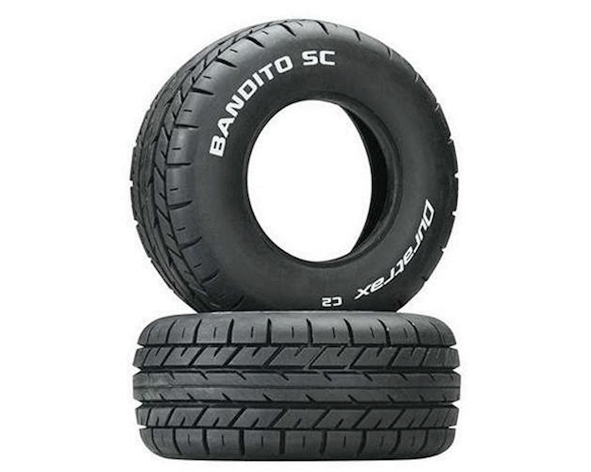 Bandito SC 1/10 On-Road Truck Tires (2) (C2) by DuraTrax