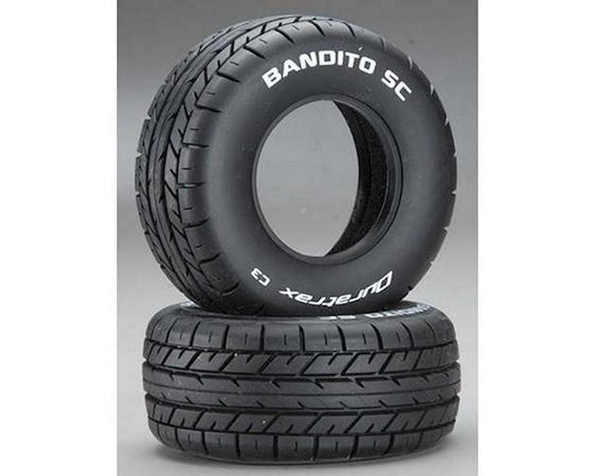 Bandito SC 1/10 On-Road Truck Tires (2) (C3) by DuraTrax