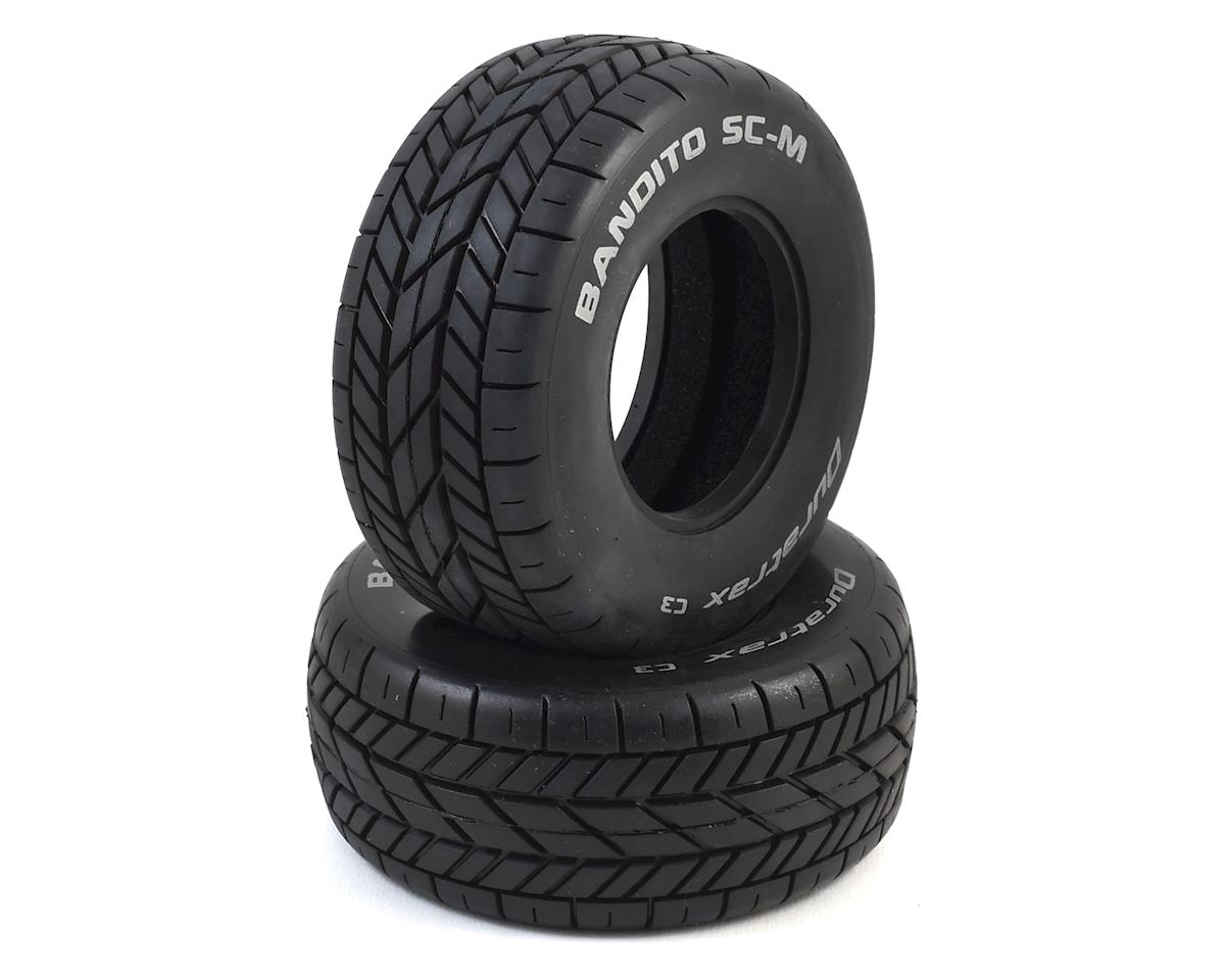 Bandito SC-M Oval Short Course Tire (2) (C3) by DuraTrax