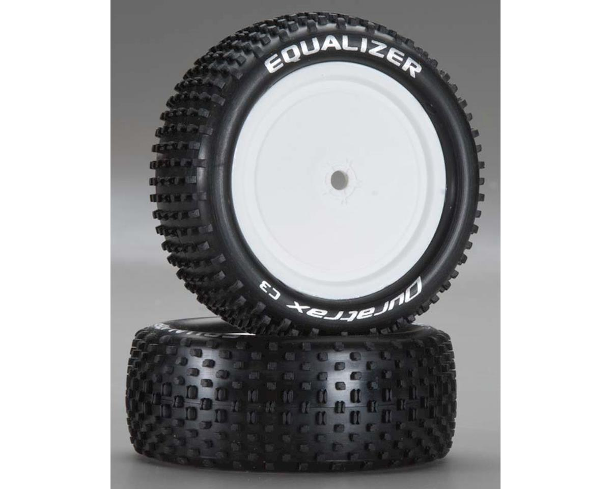 Equalizer 1/10 Buggy Tire 4WD Fr C3 Mtd ASC B44 (2) by DuraTrax