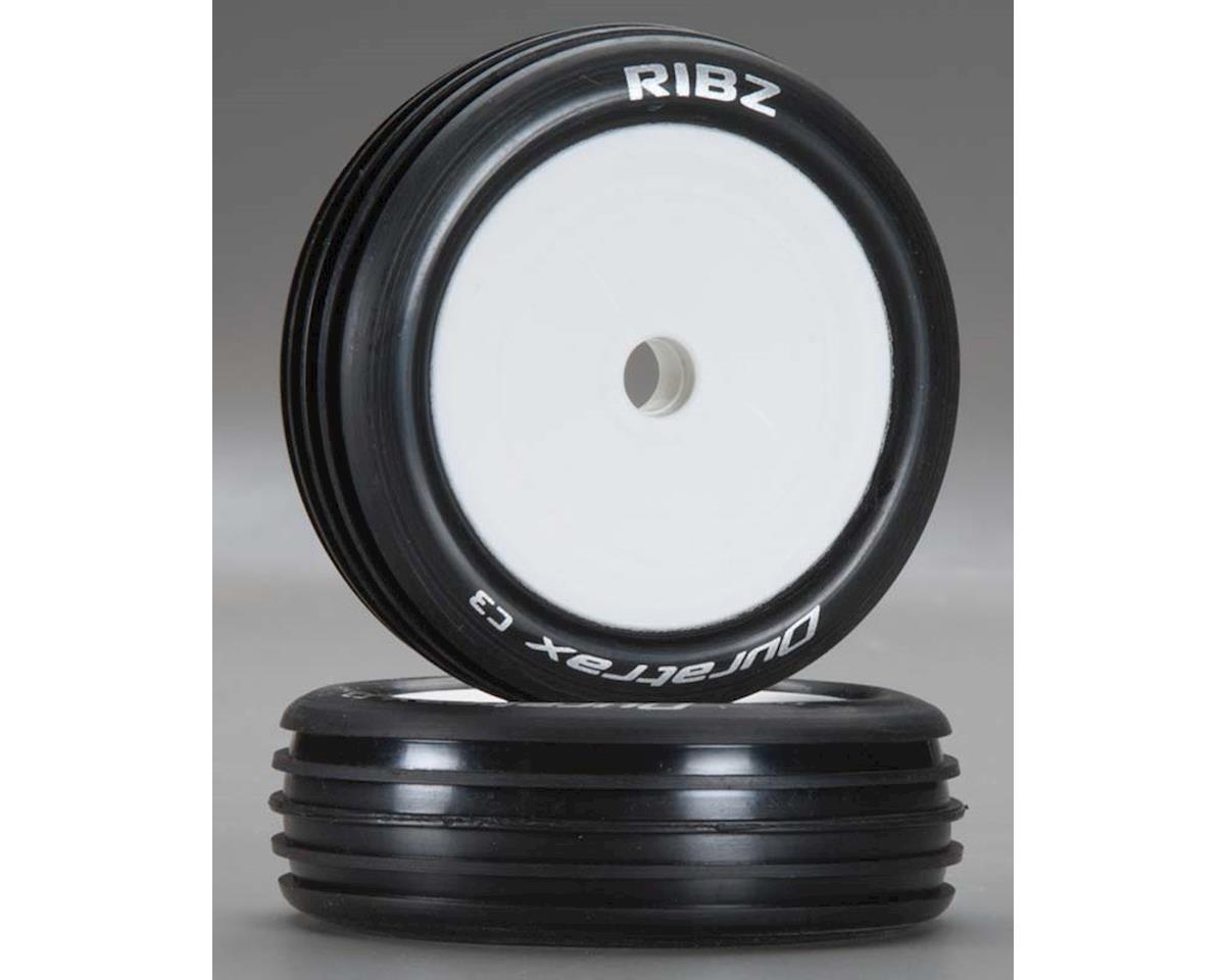 Ribz 1/10 Buggy Tire 2WD Fr C3 Mtd ASC B4 (2) by DuraTrax