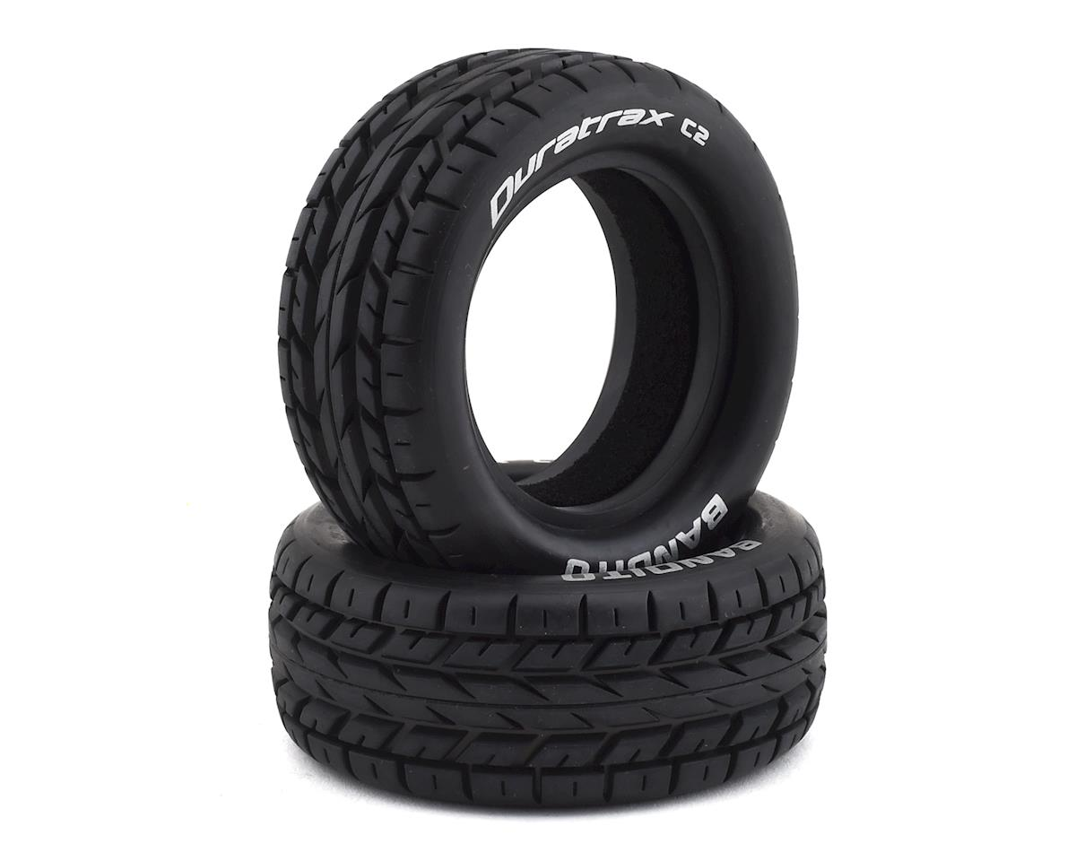 DuraTrax Bandito 1/10 Front 4WD On-Road Buggy Tire (2) (C2)