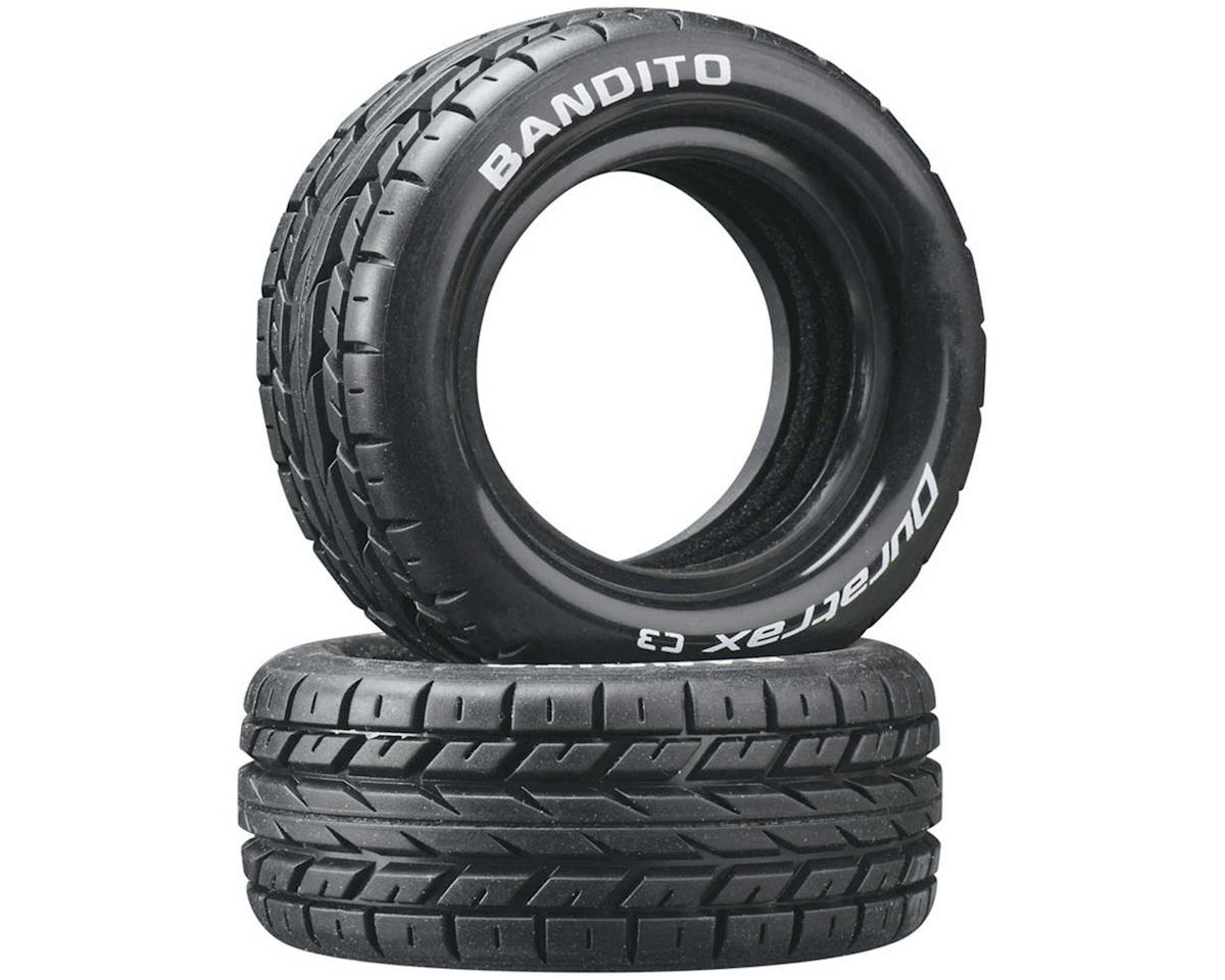 DuraTrax Bandito 1/10 Buggy Tire Front 4WD C3 (2)