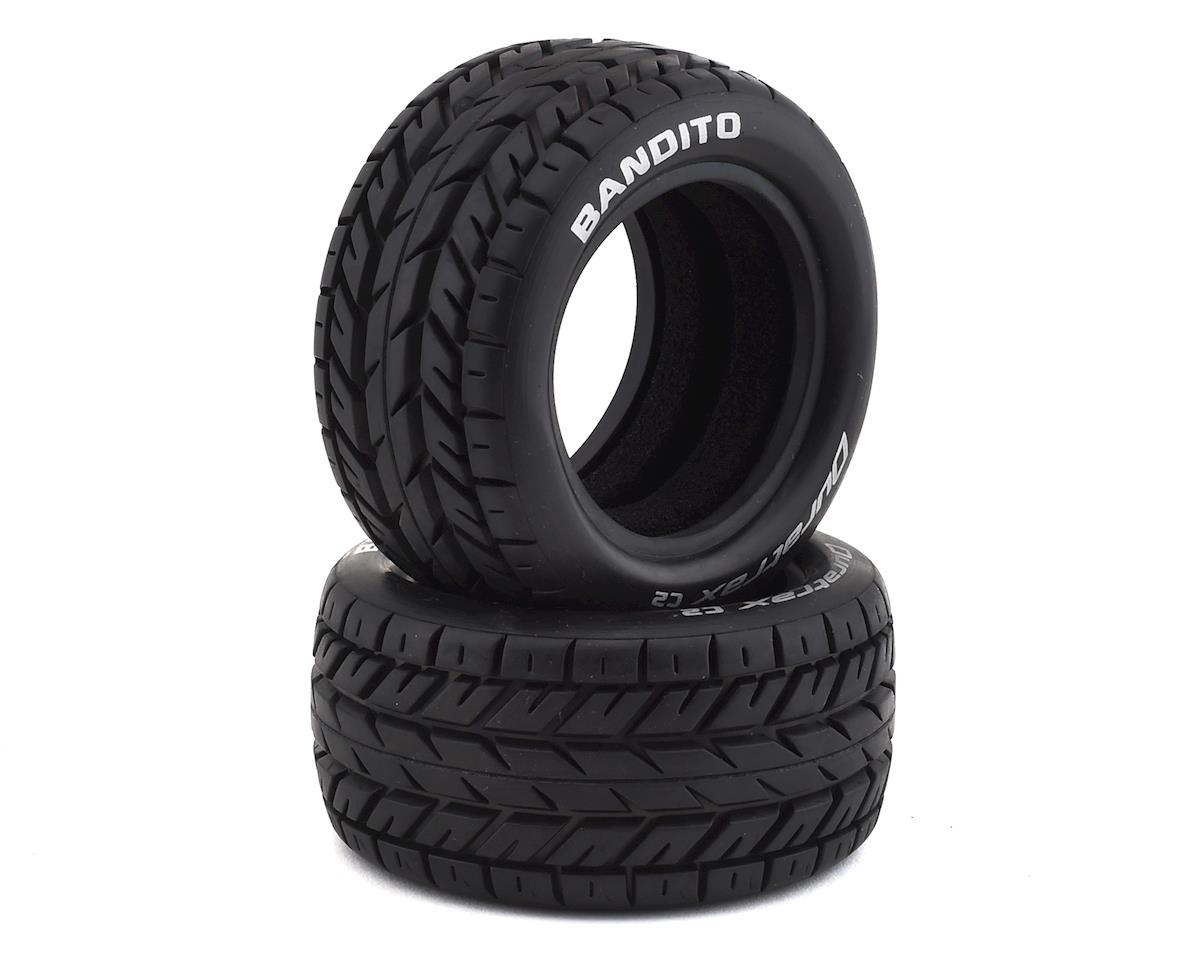 Bandito 1/10 Buggy Tire Rear 4WD C2 (2) by DuraTrax