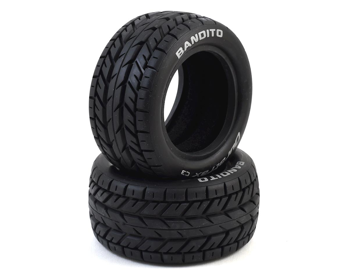 Bandito 1/10 Buggy Rear On-Road Tire (2) (C3) by DuraTrax