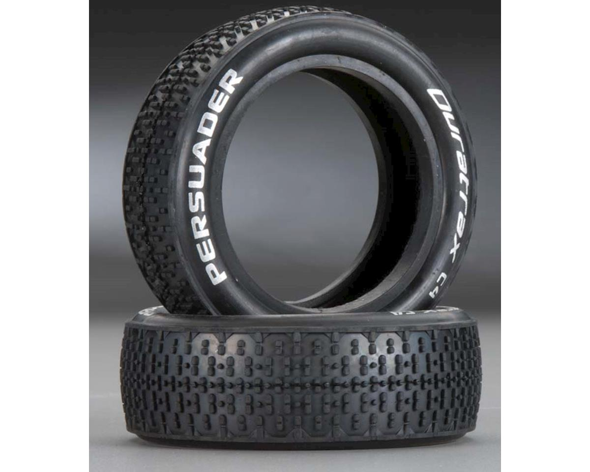 DuraTrax Persuader 1/10 Buggy Tire Fr 2WD C4 Clay (2)