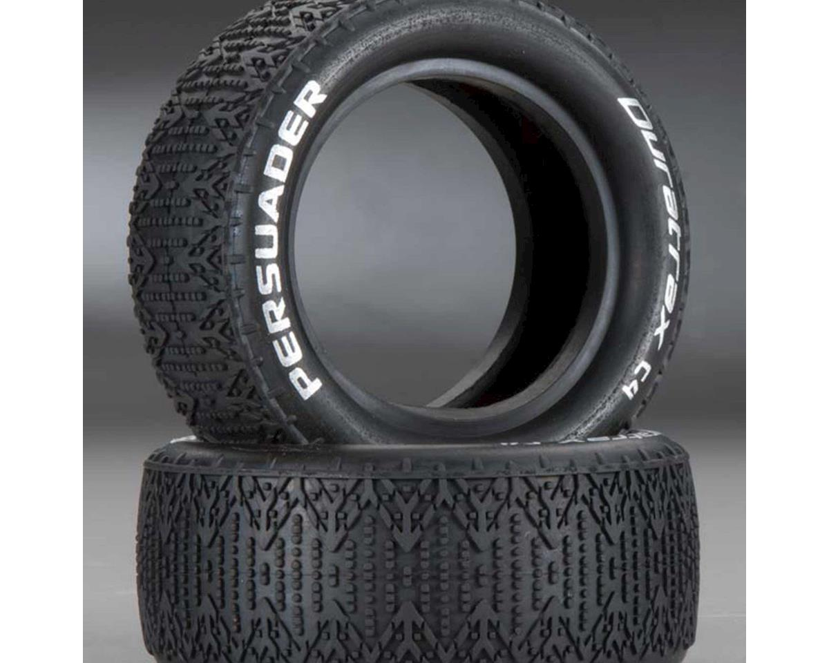 Persuader 1/10 Buggy Tire Fr 4WD C4 Clay (2) by DuraTrax