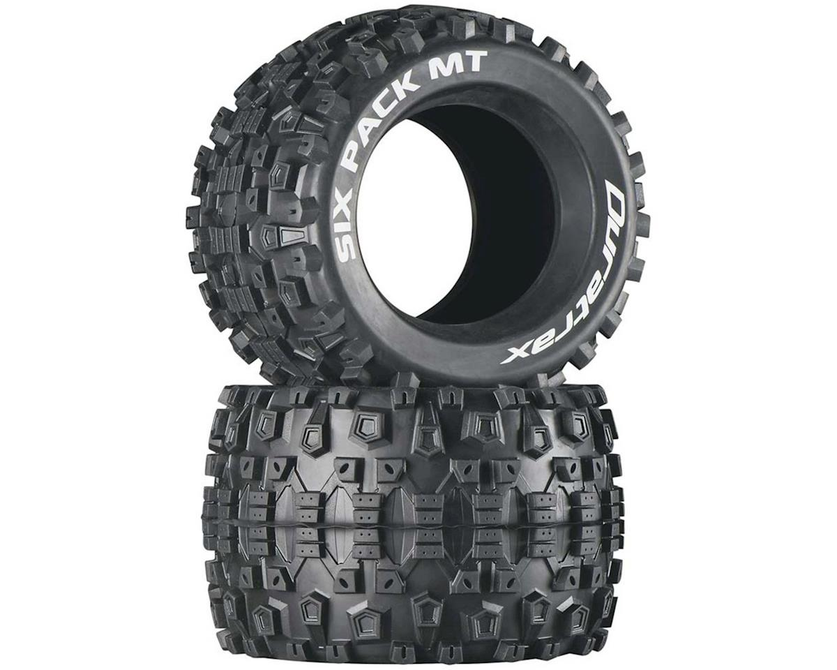 "Six Pack MT 3.8"" Tire (2) by DuraTrax"