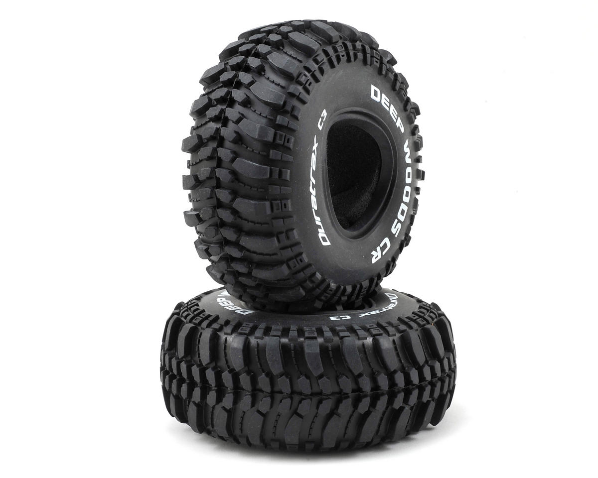 "Deep Woods CR 1.9"" Crawler Tires (2) (C3) by DuraTrax"