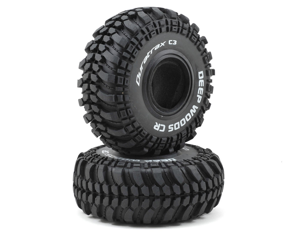 "DuraTrax Deep Woods CR 2.2"" Crawler Tires (2) (C3)"