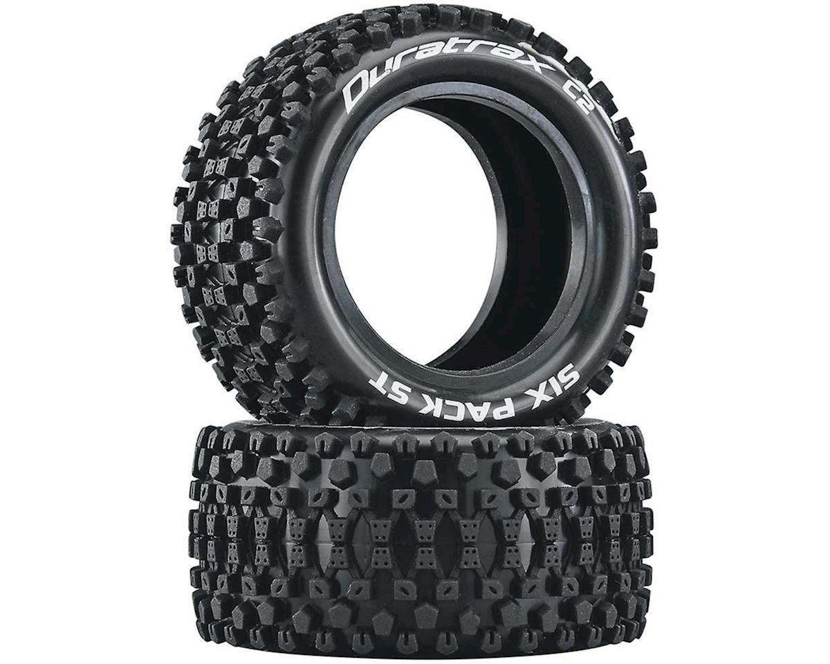 """DuraTrax Six Pack ST 2.2"""" Rear Buggy Tires (2) 
