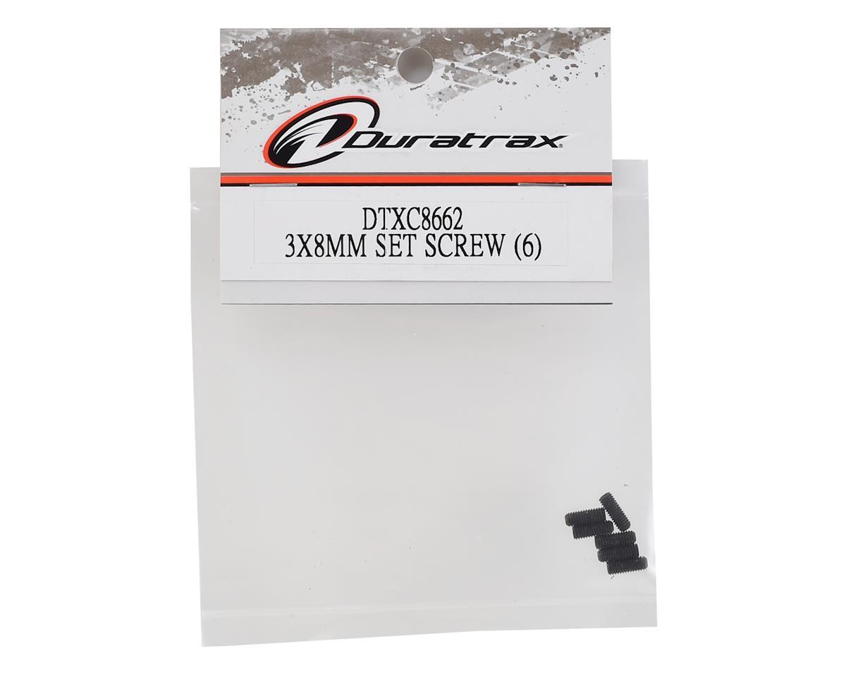 DuraTrax 3x8mm Set Screw (6)
