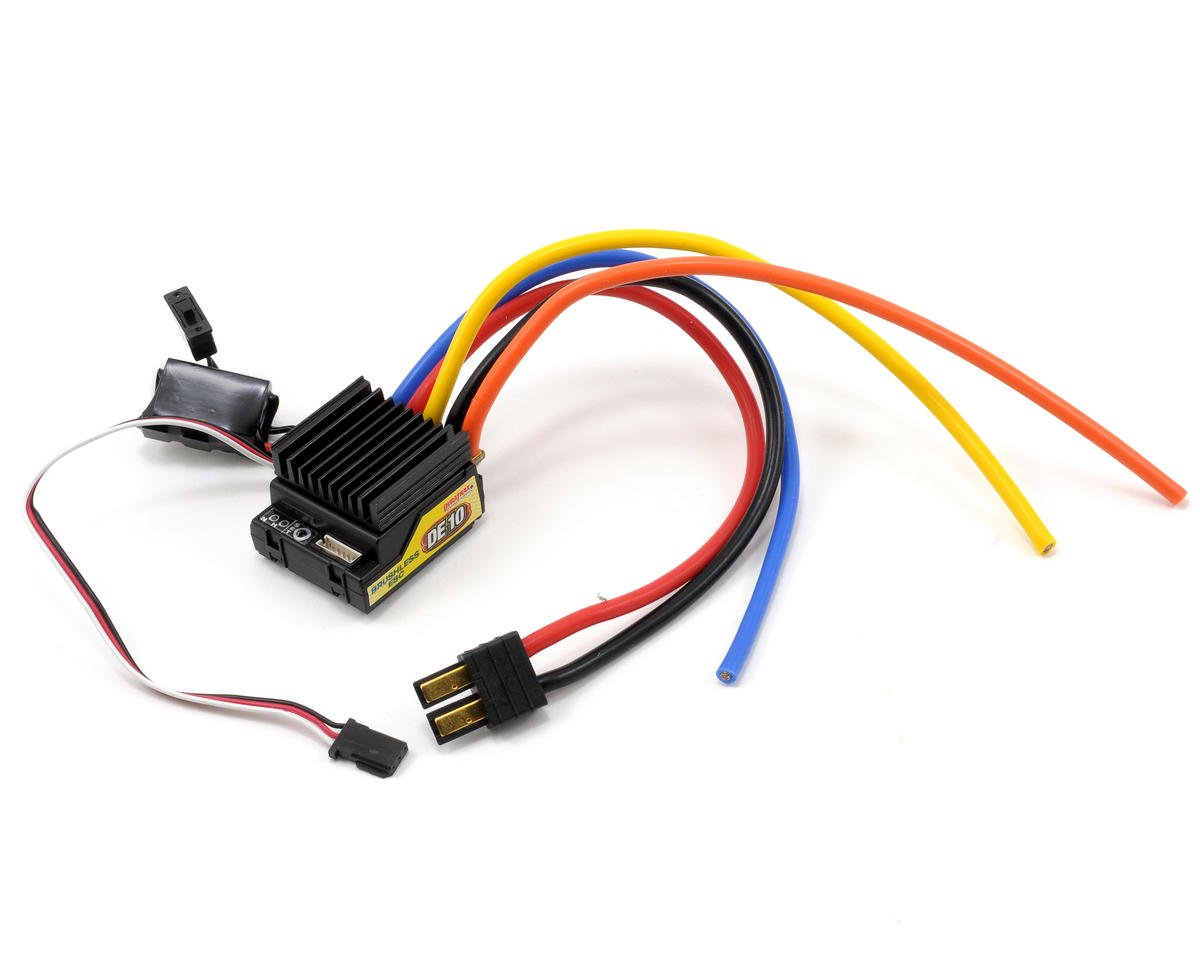DE10 Programmable Brushless/Brushed ESC