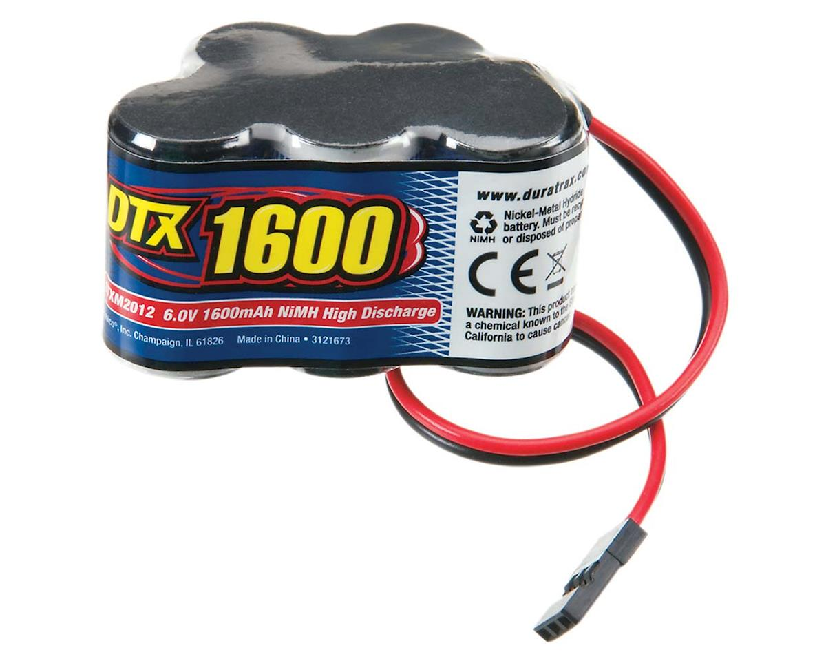 DuraTrax 5-Cell Hump NiMH Receiver Battery Pack (6.0V/1600mAh)