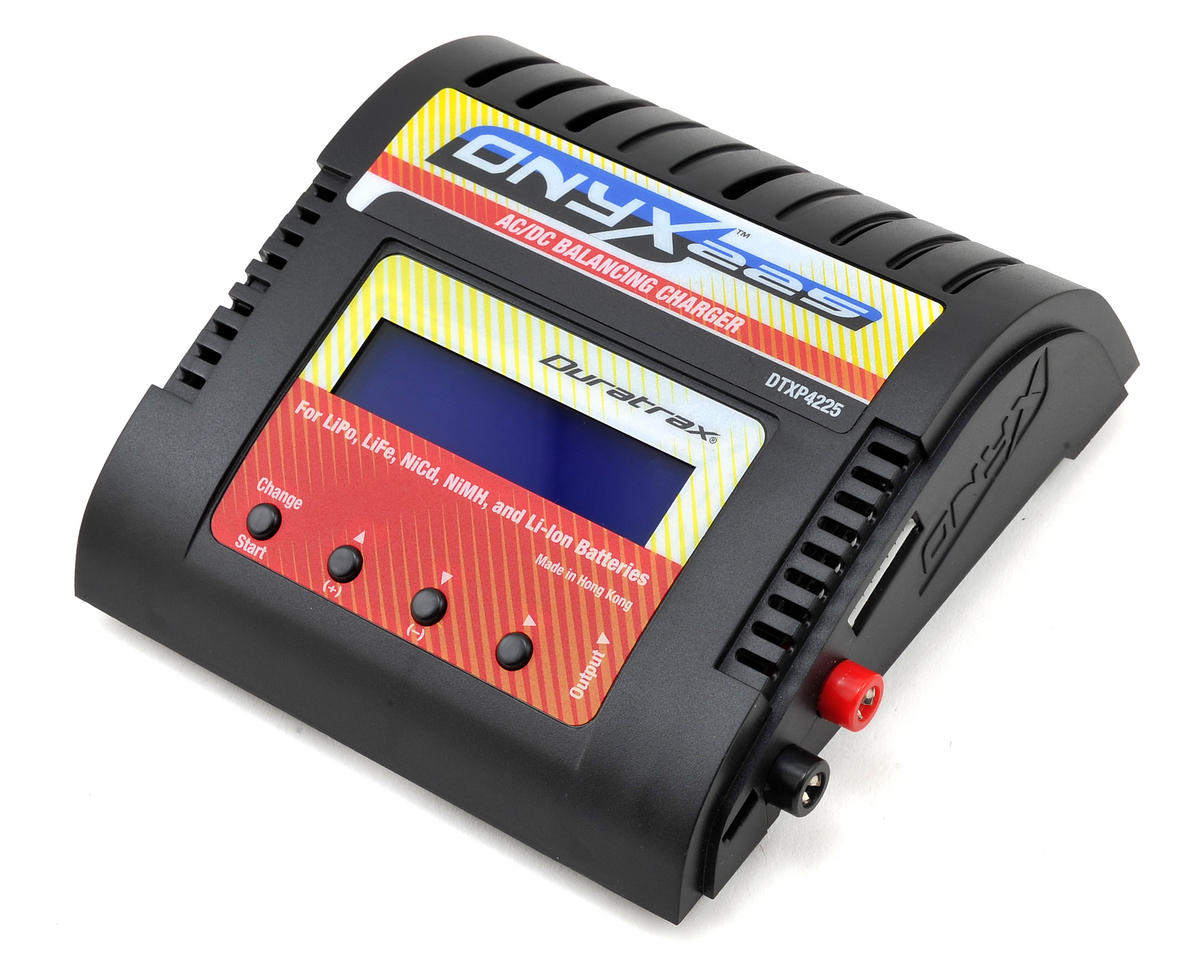 Onyx 225 AC/DC Programmable Charger w/LCD Display by DuraTrax