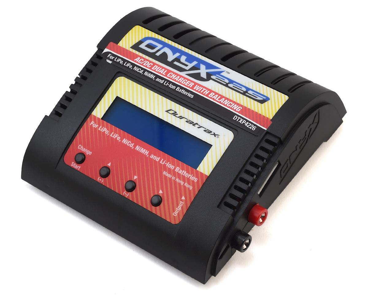 DuraTrax Onyx 225 AC/DC Advanced LiPo/NiMH Balance Charger (6S/6A/60W)